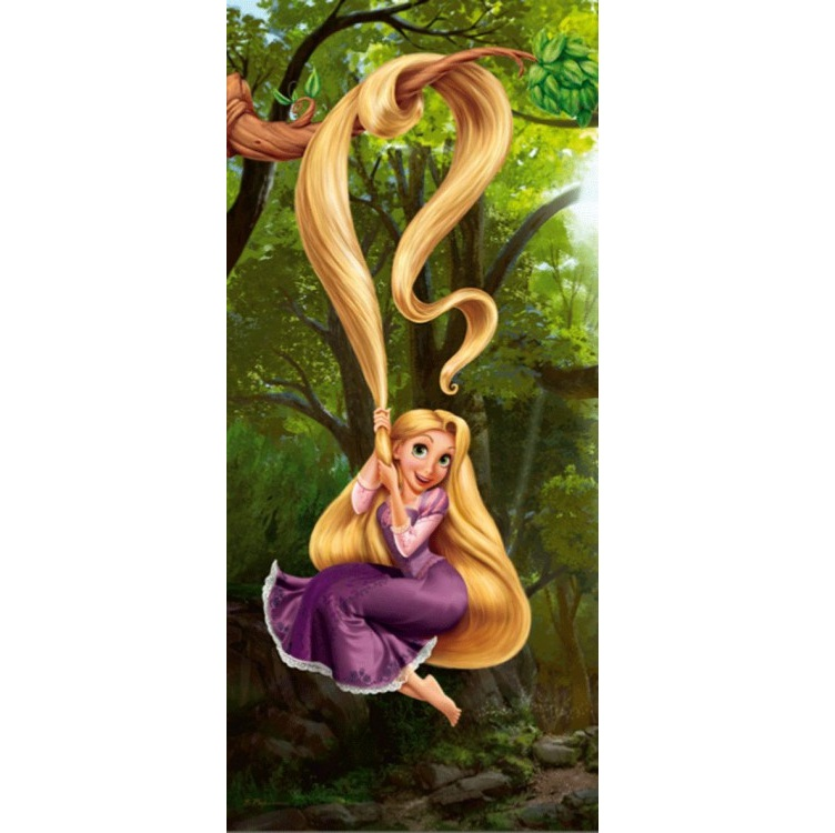 a2af47a15 Fototapeta 0233 c Na vlásku Rapunzel | E-shop | Farby | Laky ...