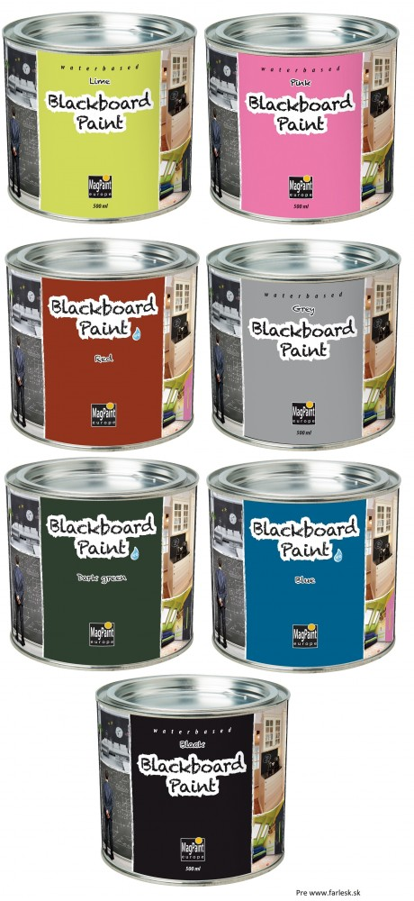 90d3d6ab0 BlackboardPaint tabuľová farba na stenu | E-shop | Farby | Laky ...