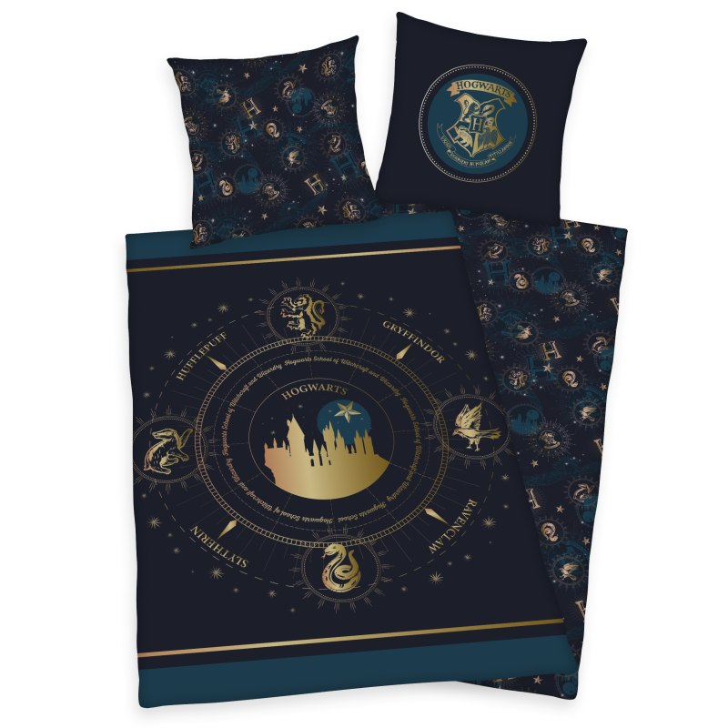 Posteľné obliečky Harry Potter Dark Gold
