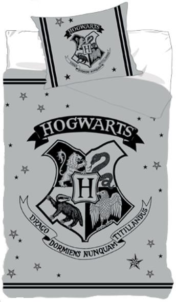 Posteľné obliečky Harry Potter sivé II - posledný kus