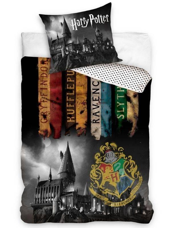 Posteľné obliečky Harry Potter Fakulty