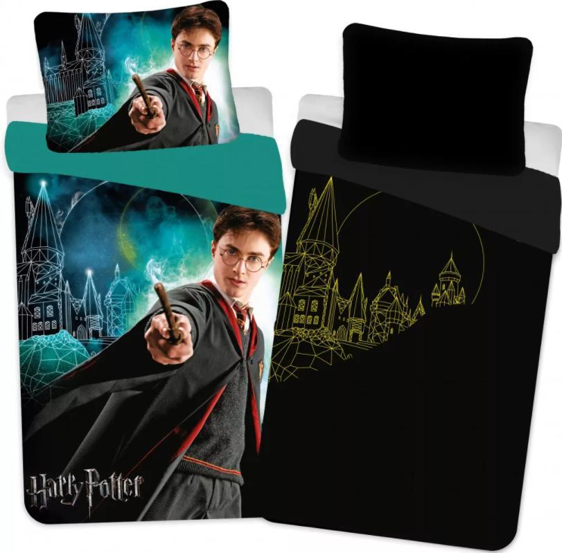 Posteľné obliečky Harry Potter real new svietiace