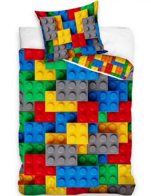 Posteľné obliečky Lego kocky III