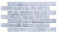 PVC panel D0003 Old Grey Brick