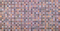 PVC panel D0014 Mozaika Brown Antiquity