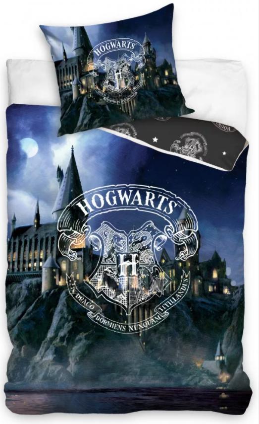 Posteľné obliečky Harry Potter Rokfort III